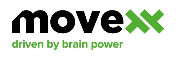 elektrické tahače a manipulátory movexx, logo