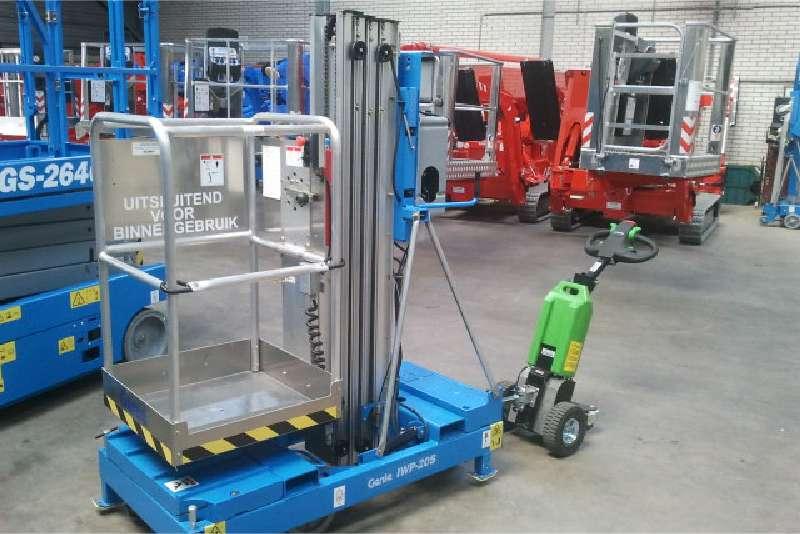 elektrický ručně vedený tahač t1000, přeprava těžkého nákladu na kolečkách