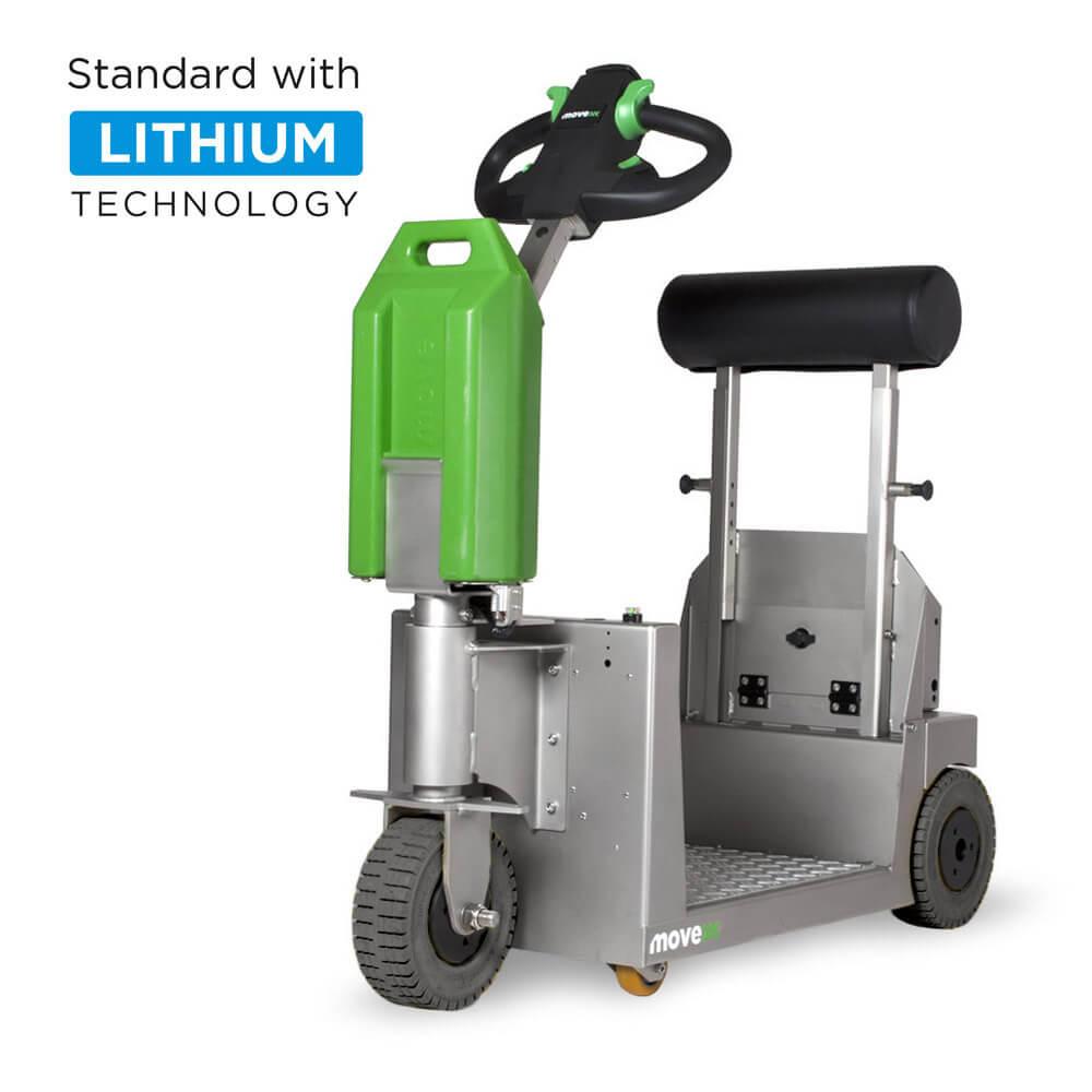 elektrické tahače t1000-platform rvs s plošinou pro stojícího řidiče se hodí pro zdravotnictví, farmaceutický, chemický či potravinářský průmysl, úvodní foto