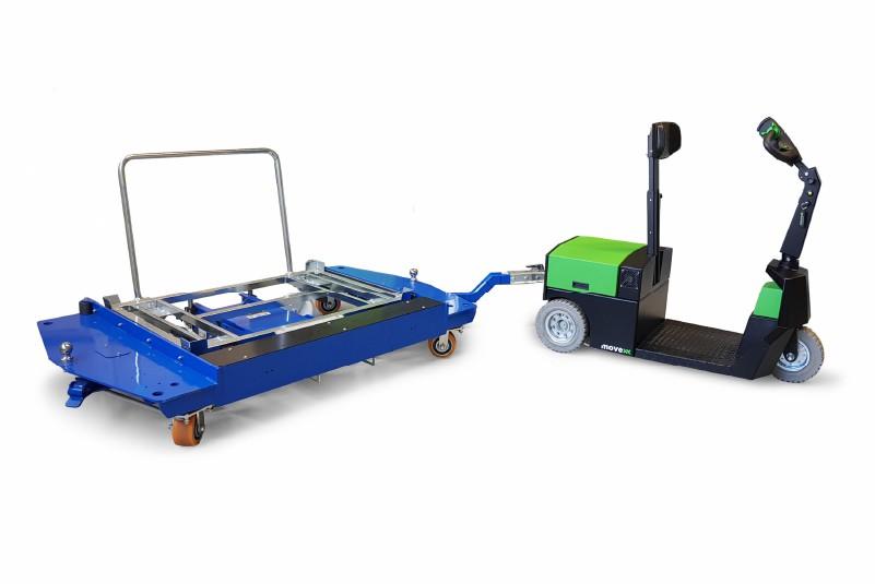 zapojeni e ramu k.hartwall elektricky tahac s plosinou pro stojiciho ridice t3500