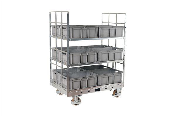 policovy prepravni vozik shelf wagon k.hartwall jk logistika