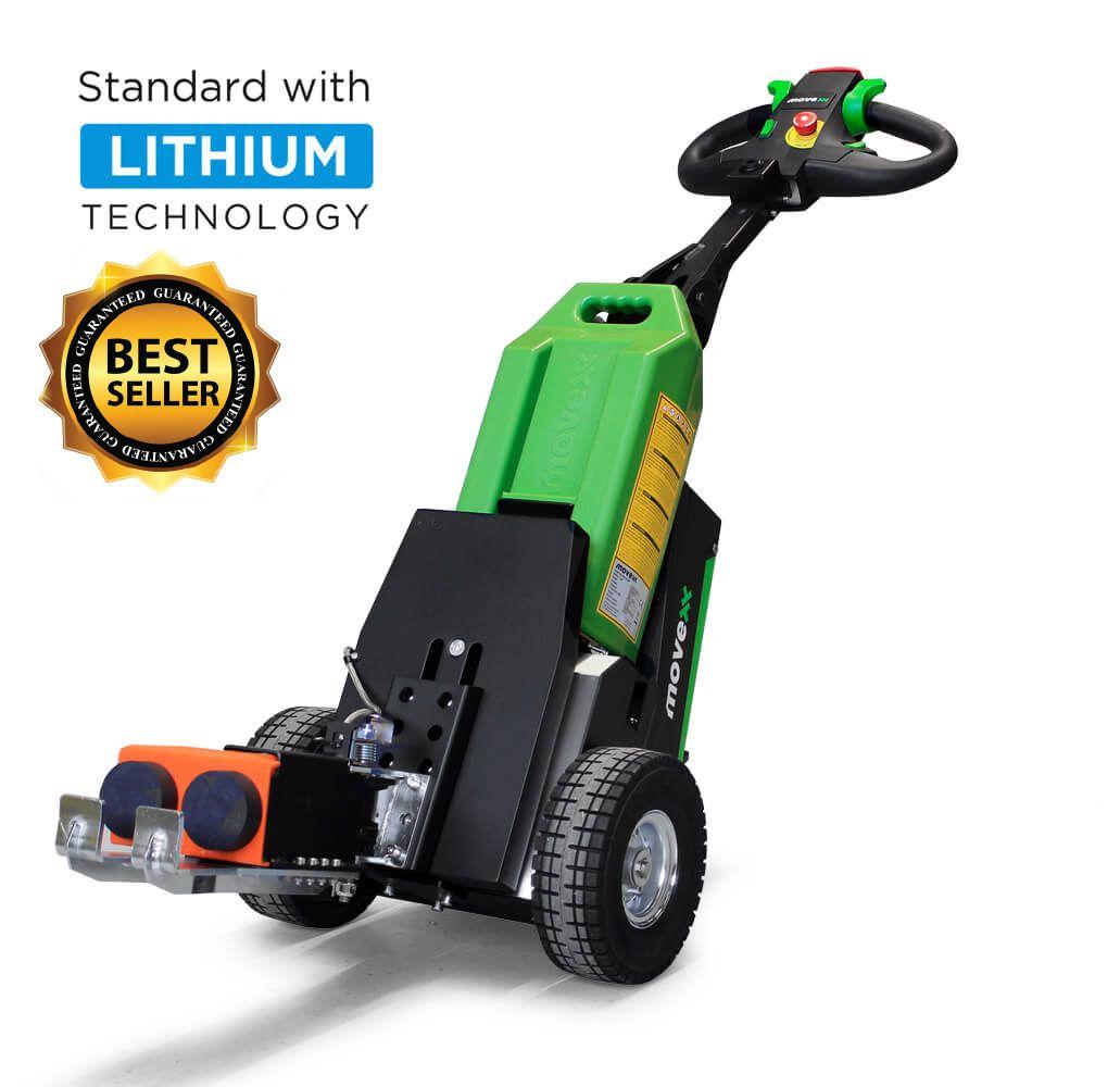 ručně vedený elektrický tahač t1500 s mechanickým hákem a vyměnitelnou baterií je bestseller, úvodní foto