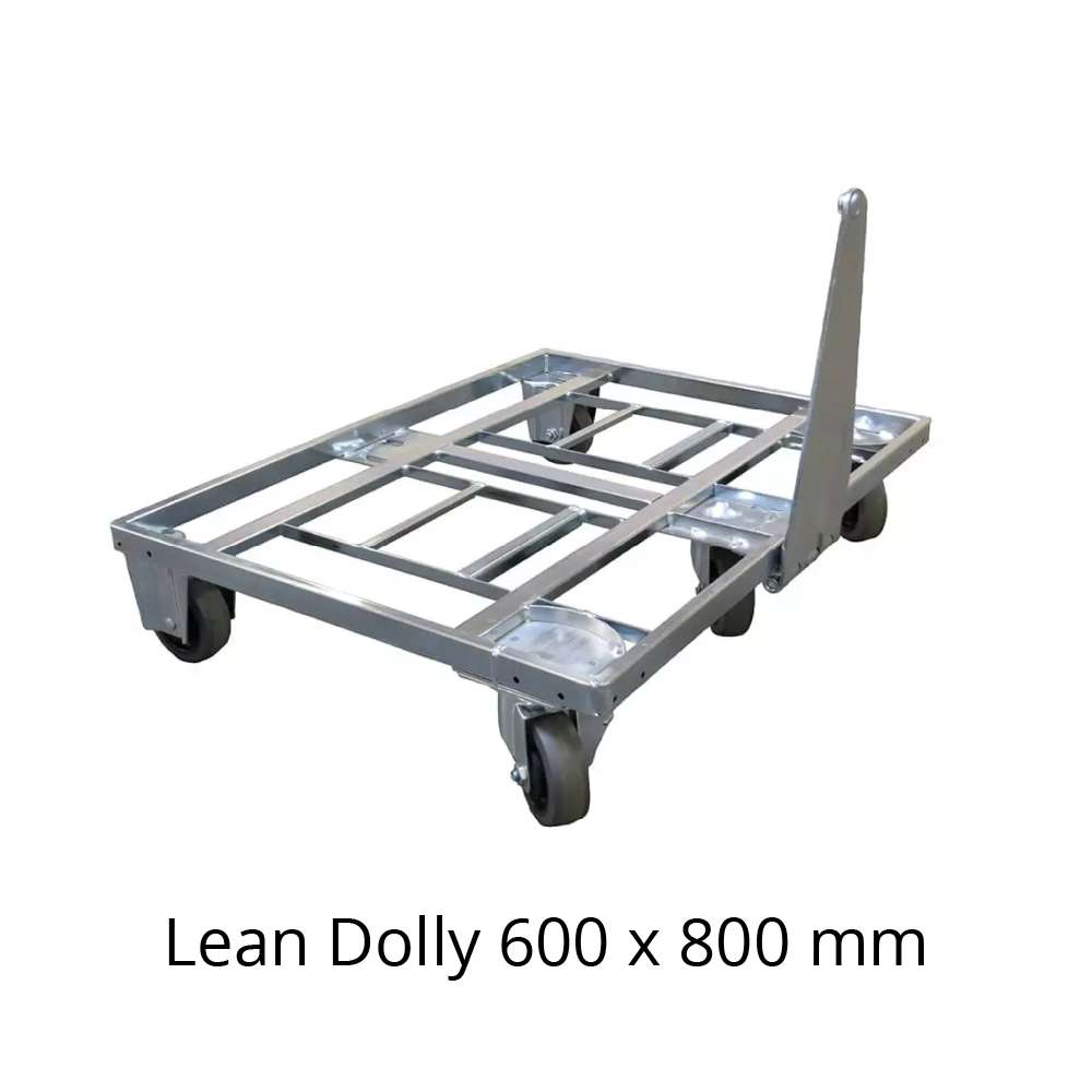 přepravní vozík s ojí dolly typ VI 600x800 mm od k.hartwall