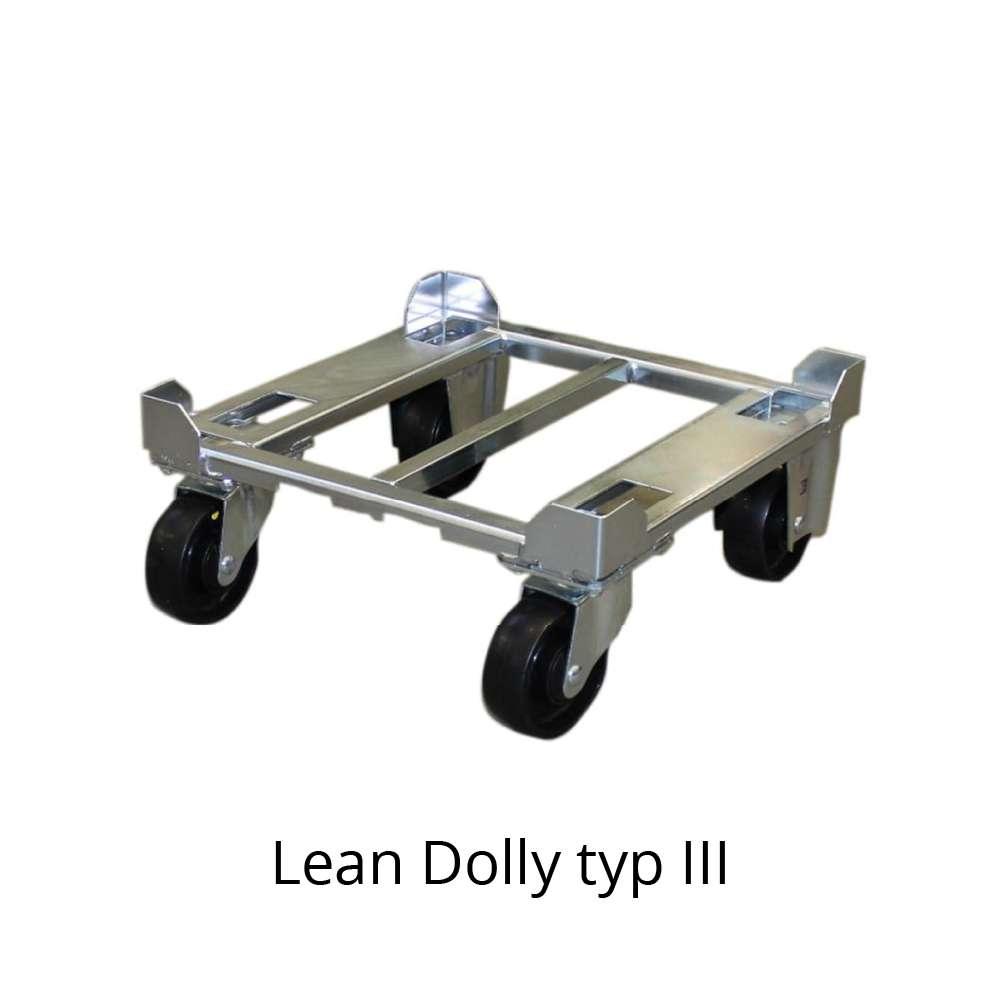 přepravní vozík dolly typ III 400x400 mm od k.hartwall