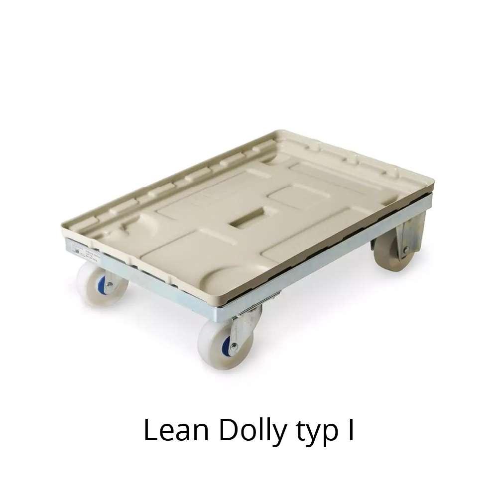 přepravní vozík dolly typ I 600x400 mm s plastovým krytem od k.hartwall
