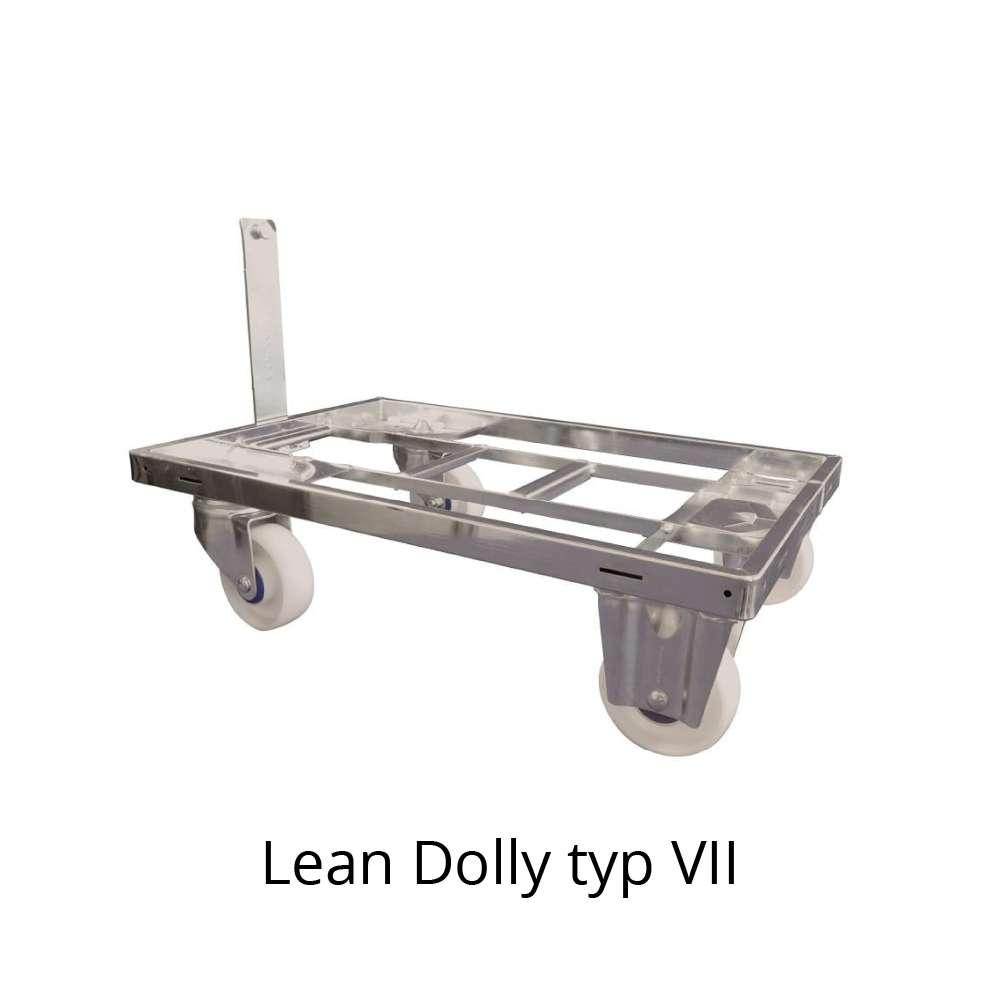 přepravní vozík s ojí dolly typ VII 600x400 mm od k.hartwall