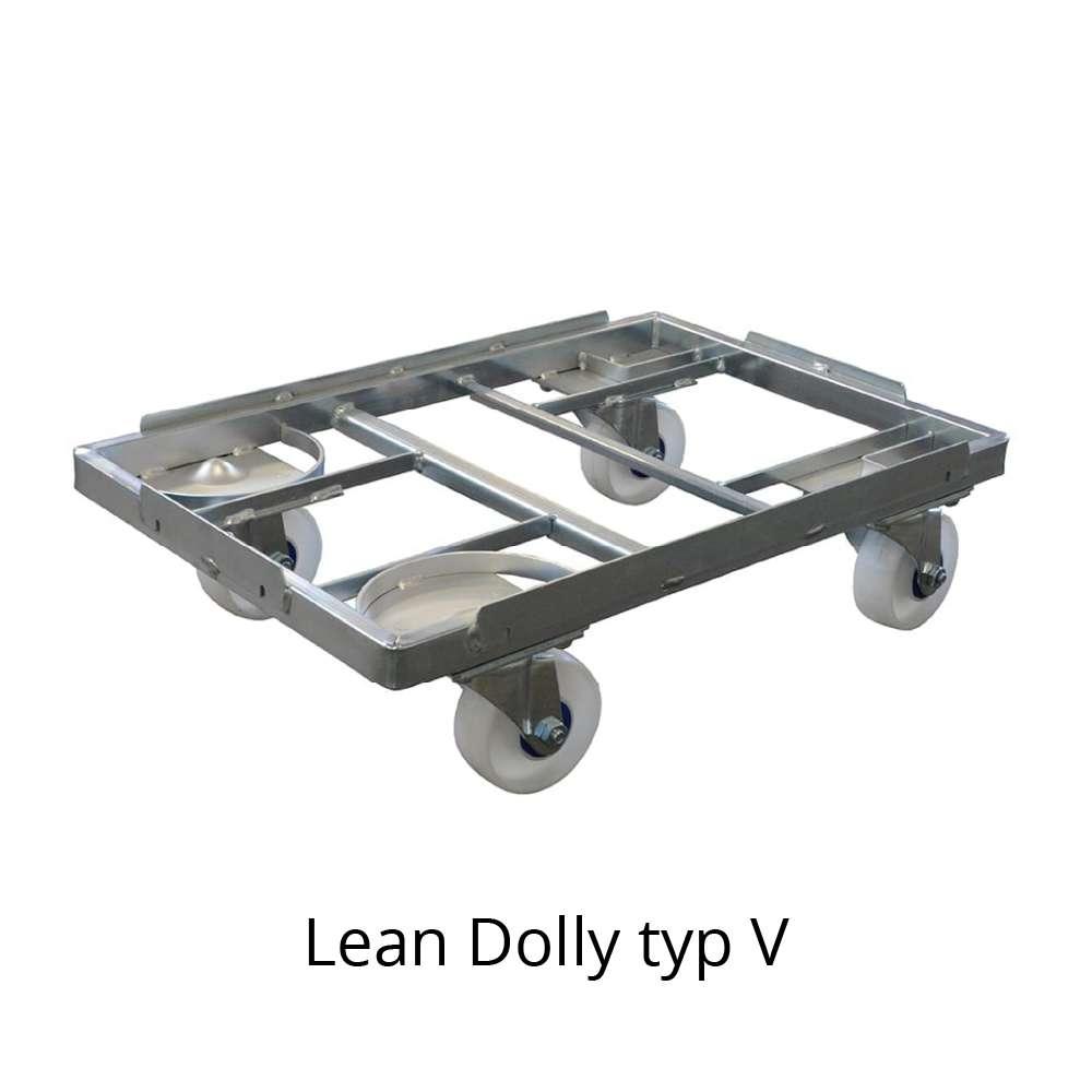 přepravní vozík dolly typ V 600x400 mm od k.hartwall