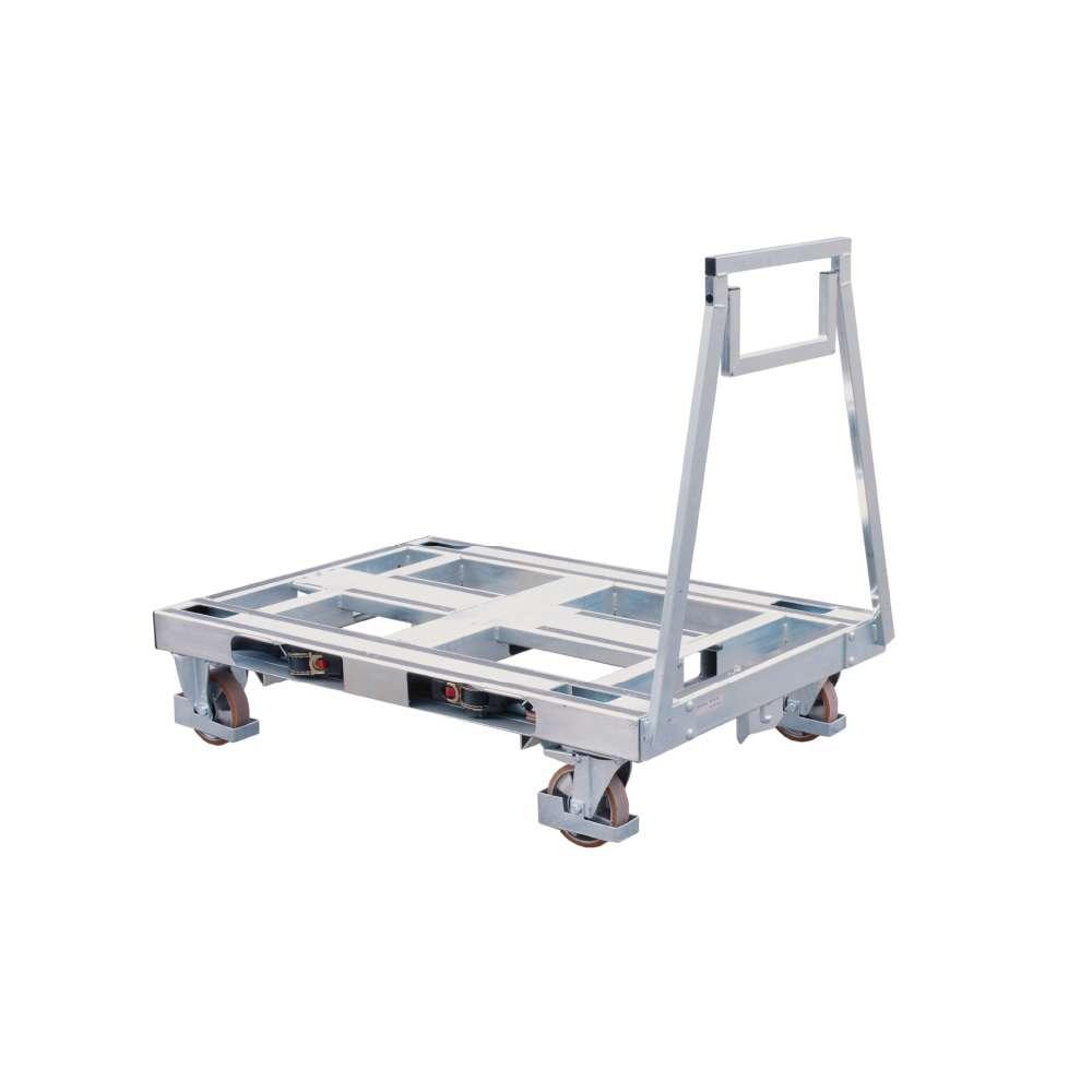 plošinový přepravní vozík pallet size dolly od k.hartwall
