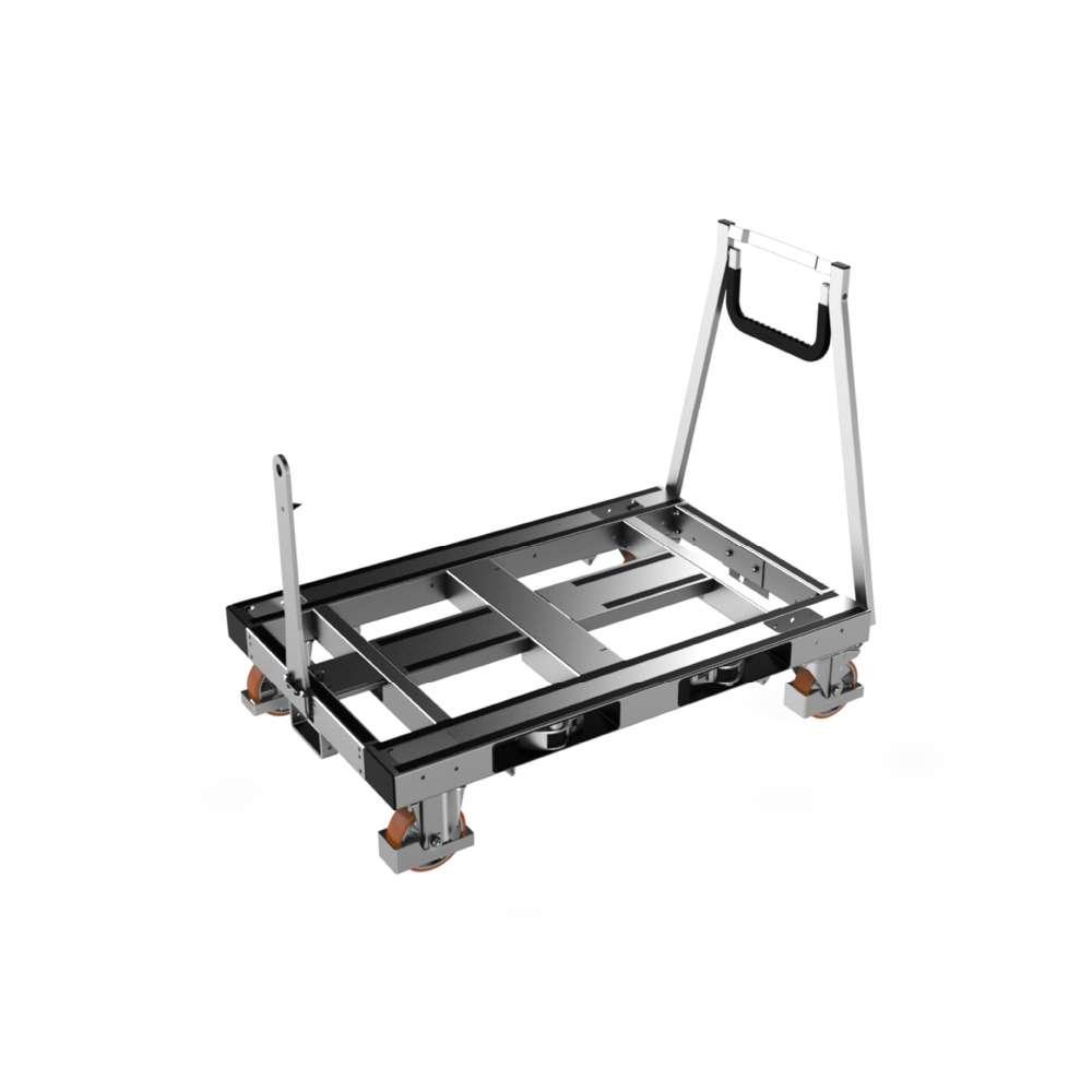 plošinový přepravní vozík pallet size dolly k.hartwall