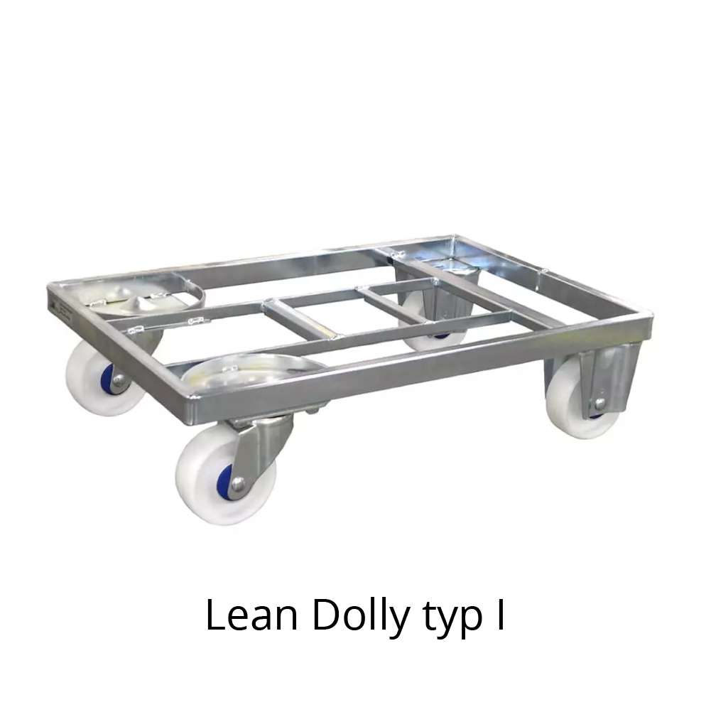 přepravní vozík dolly typ I 600x400 mm od k.hartwall