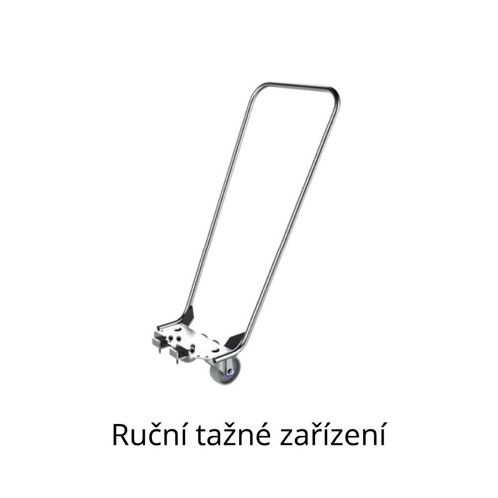 ruční tažné zařízení pro manipulaci přepravních vozíků dolly od k.hartwall