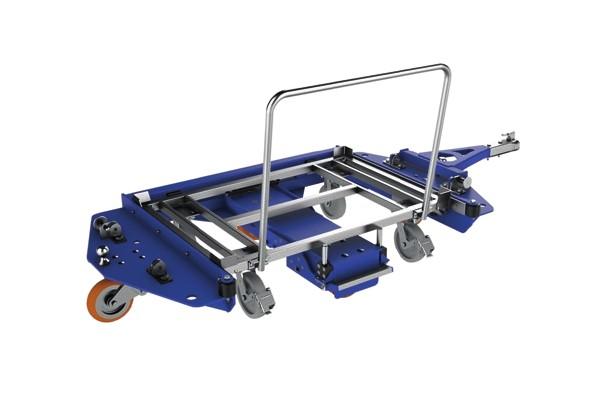 přepravní vozík e-rám center steer od k.hartwall