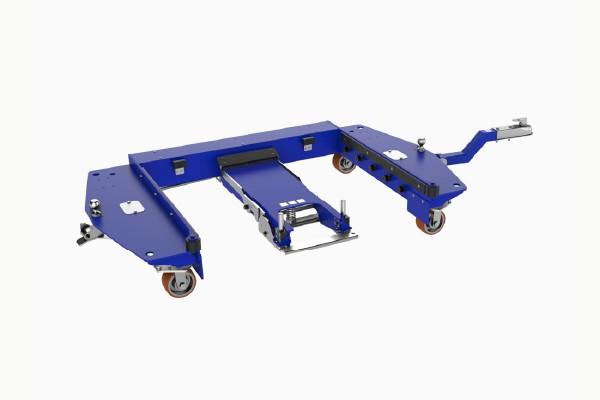 speciální přepravní vozík e rám quad steer od k.hartwall