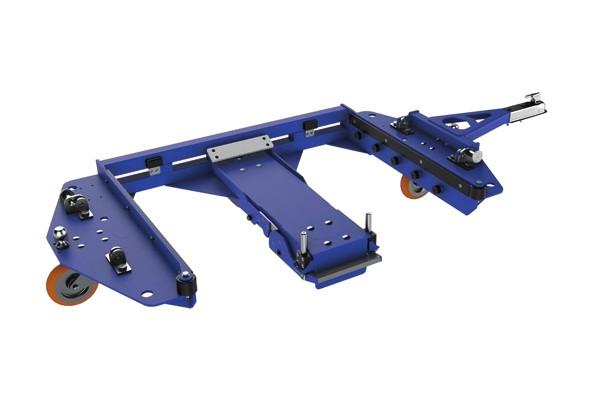 speciální přepravní vozík e rám center steer od k.hartwall