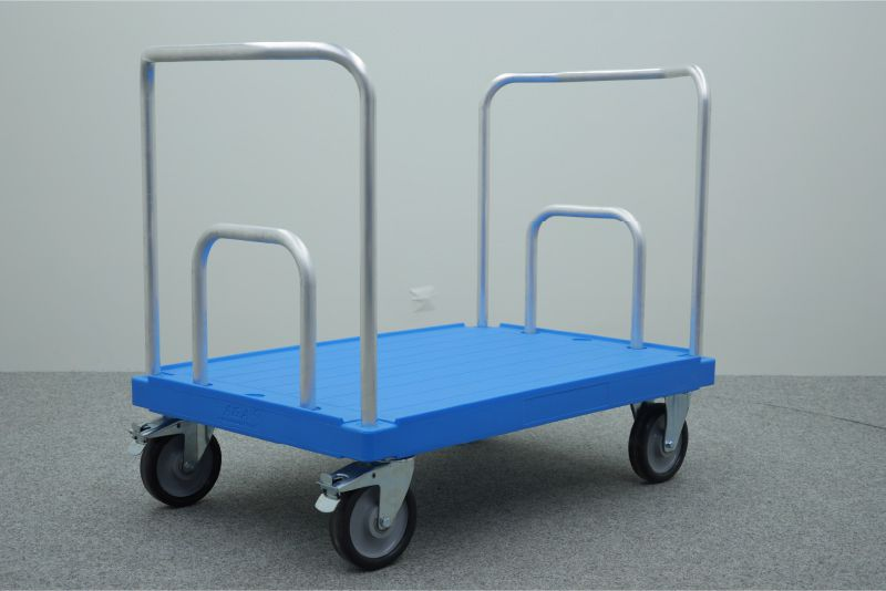 dvoustranný plošinový přepravní vozík elephant board od k.hartwall