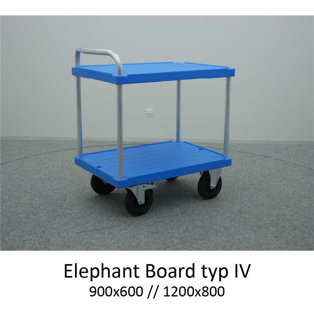 montážní/servírovací přepravní vozík elephant board typ 4 od K.Hartwall