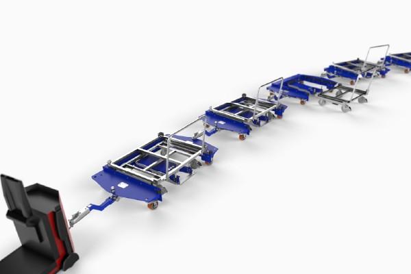 tažná souprava e-rámy quad steer od k.hartwall