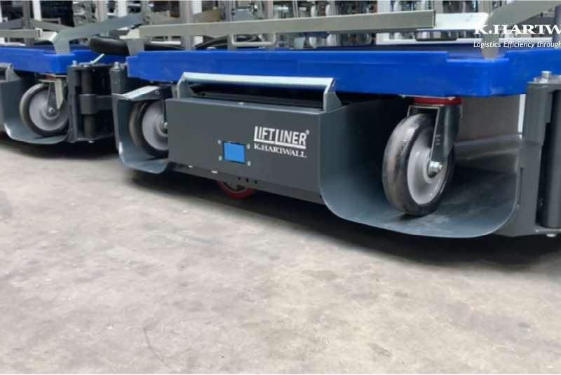 b-rámy liftliner od k.hartwall, transport nákladu ve skladu