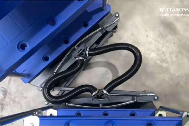 propojení b-rámů liftliner od k.hartwall