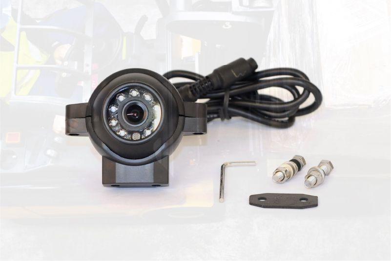 bezpečnostní kamera pro vzv a manipulační techniku safeview značky sis s monitorem