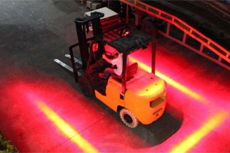 výstražný světelný boční pruh pro vysokozdvižný vozík sis safelight