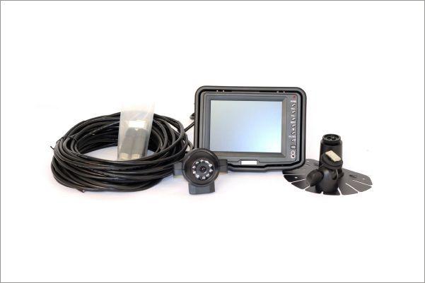 bezpečnostní kamera s monitorem pro vzv a průmyslové stroje safeview od sis