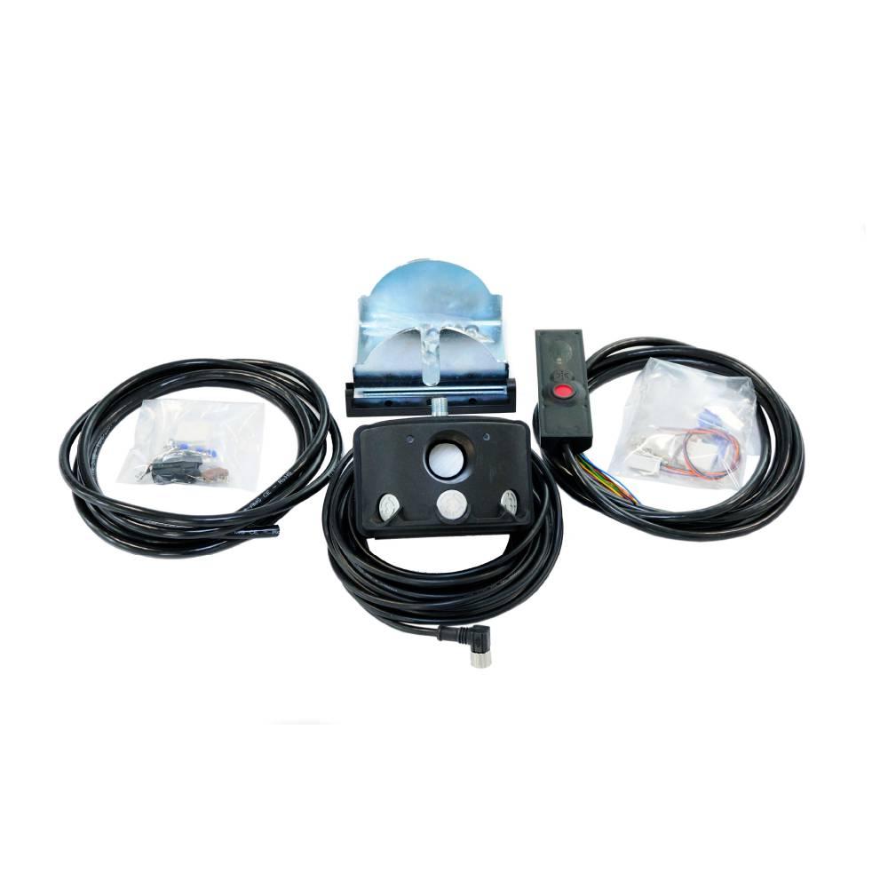 bezpečnostní systém safe&stop značky sis pro vysokozdvižné vozíky vzv, manipulační techniku a průmyslové stroje