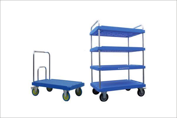 univerzální a vysoce odolné přepravní vozíky elephant board od k.hartwall
